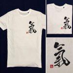 T-shirts Qi energy white